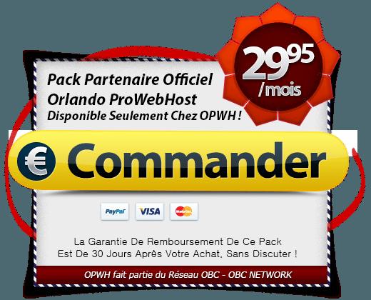 Achetez Vite Le Pack Partenaire Officiel OPWH!